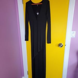 Black Seductions Dress with Tags On